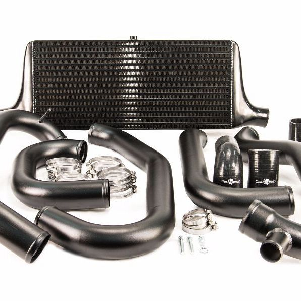 Front Mount Intercooler Kit (suits Subaru 97-00 GC8 WRX/STI) - Black