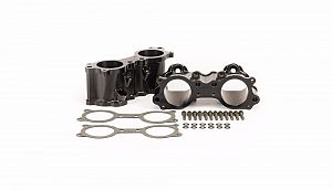 Billet TGV Delete Kit (suit Subaru 08-14 WRX) - Black