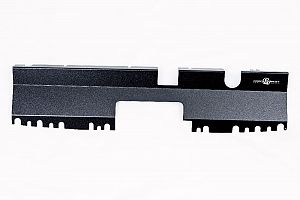 Radiator Cover (suits Subaru 15-17 WRX/STI) (suits Intakes w/o Factory Inlet Chute) - Black