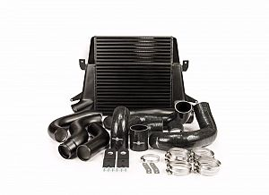 Stage 1 Intercooler Kit (Stepped Core) (suits Ford Falcon FG) - Black
